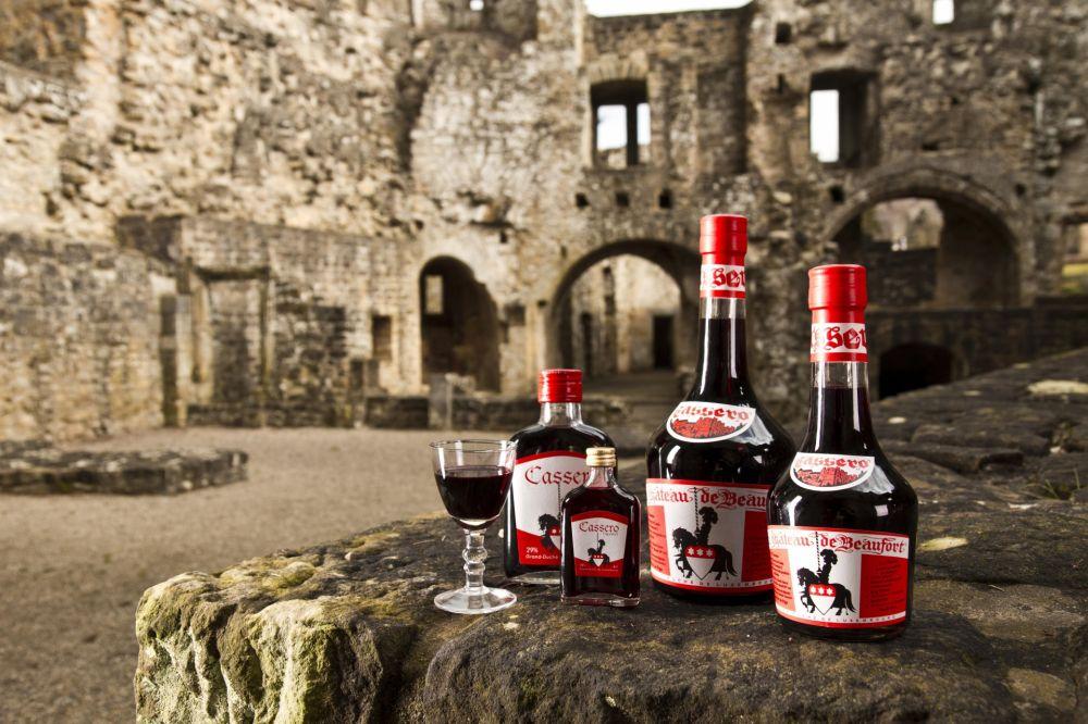 liqueur of the castle beaufort