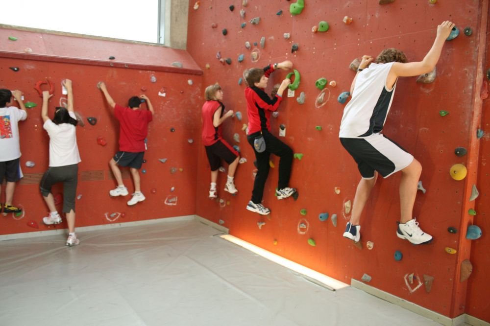 Indoor Climbing youth hostel Echternach
