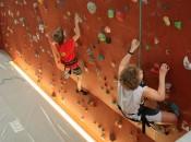 Indoor Climbing youth hostel