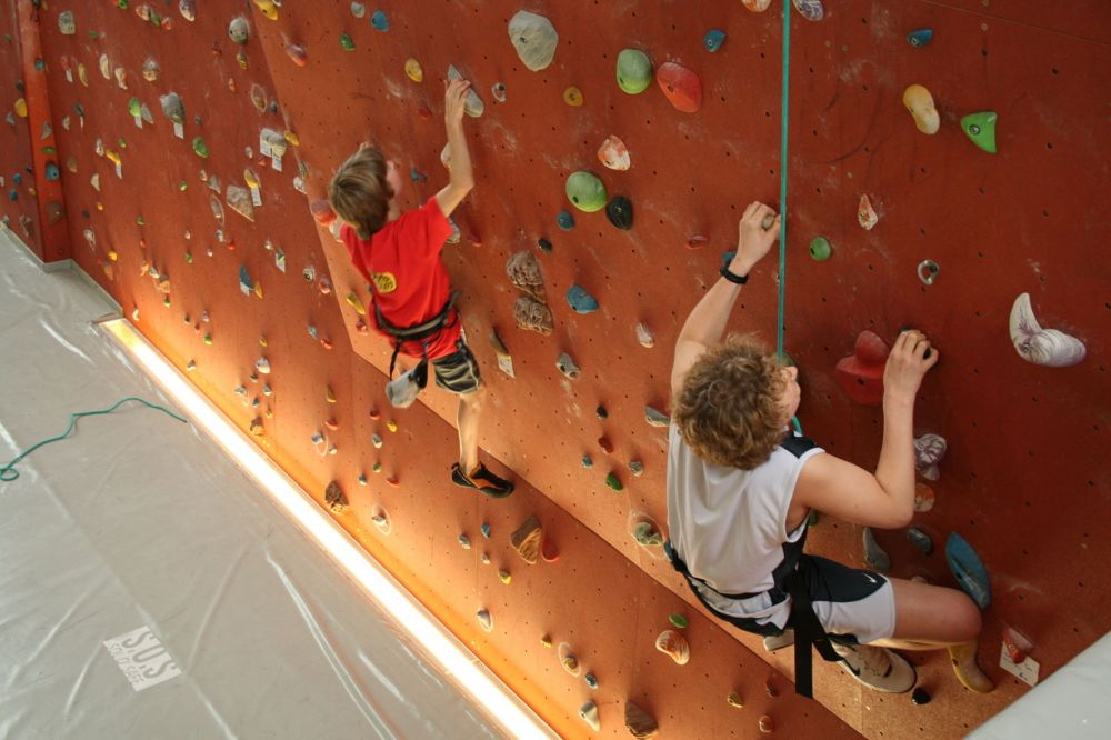 Indoor Climbing youth hostel