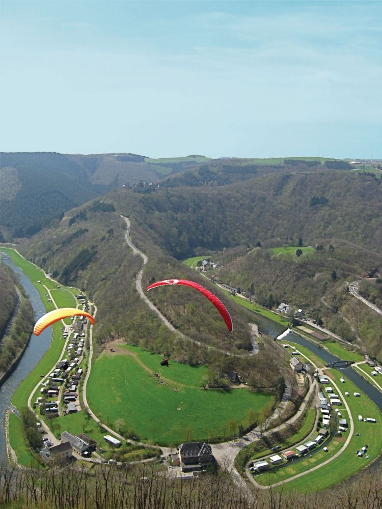 paragliding at the gringlay 07