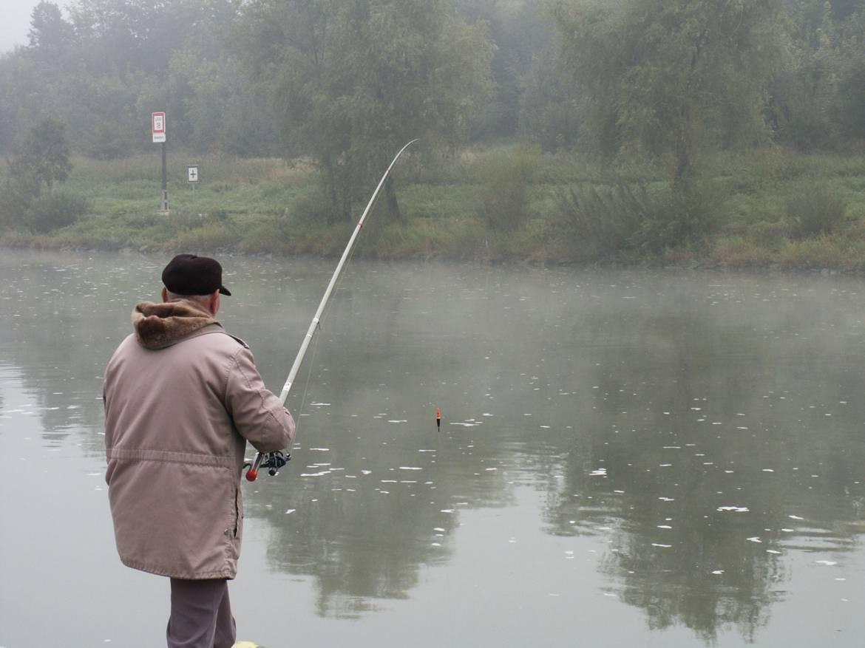 pecher dans le barrage de vianden