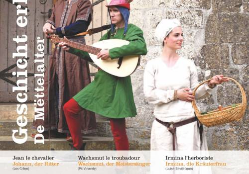 vivre l histoire le moyen age hollenfels