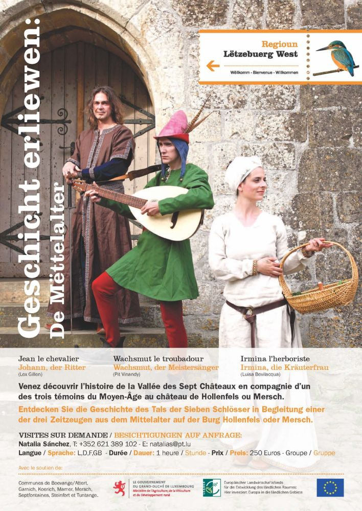 living history the middle ages hollenfels