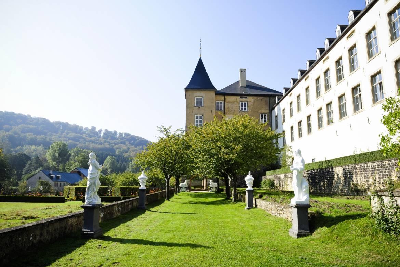 jardins baroques du nouveau chateau d ansembourg