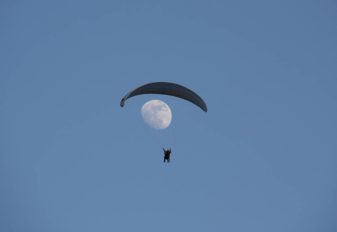 Paragliding at the