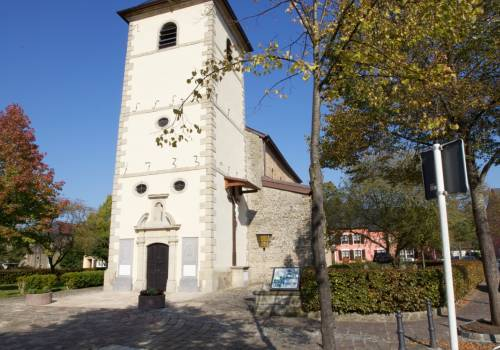 romanesque church saeul 01