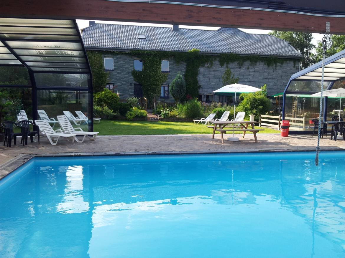 Our Family Camp Site Is Situated 8km From Clervaux And Near The Triangle  Luxembourg, Belgium And Germany. Covered Swimming Pool Heated At  29°(04 15.09).