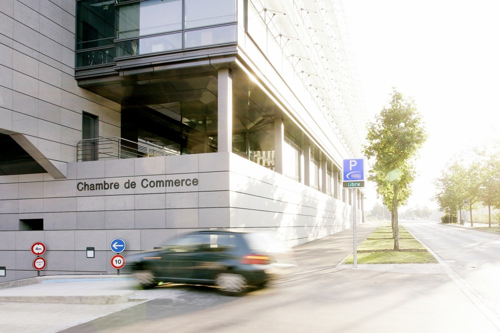 Chambre de commerce meeting point luxembourg for Chambre de commerce kirchberg