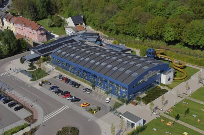 Piko piscine kordall rodange redrock region for Piscine couverte luxembourg