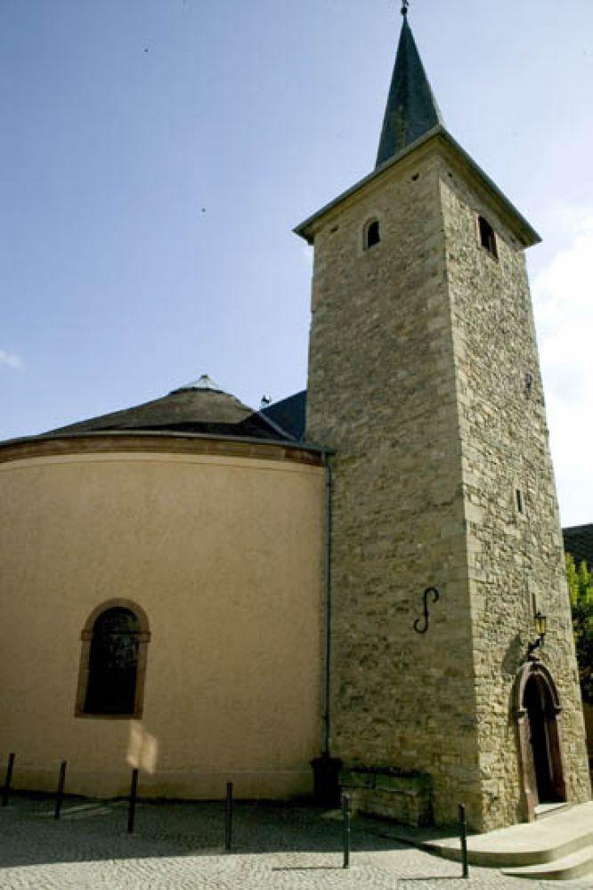circular church ehnen