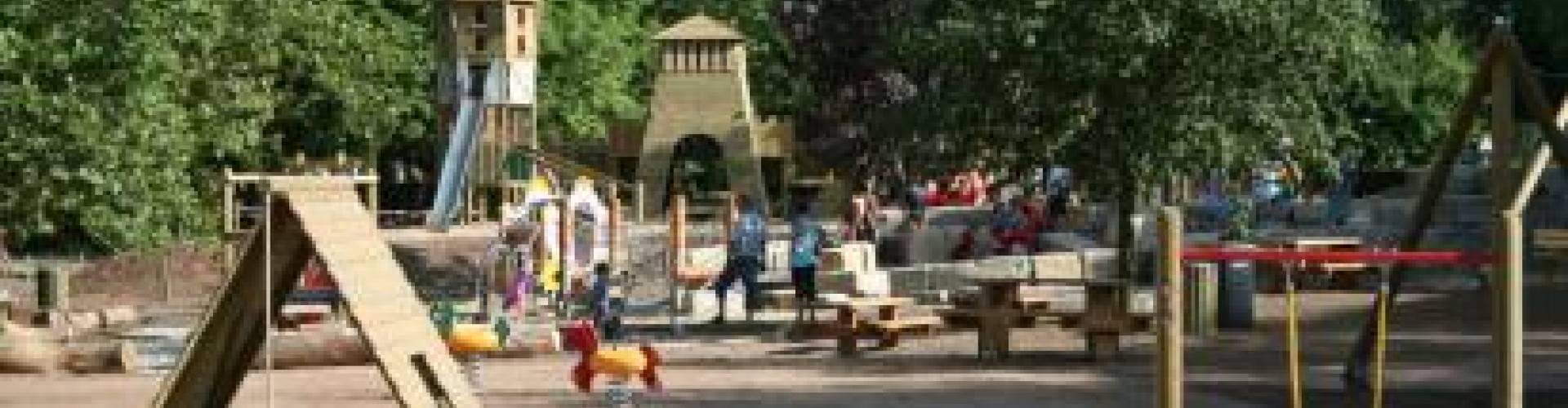 Abenteuer Spielplatz in der Nähe der Sauer - ORT Mullerthal