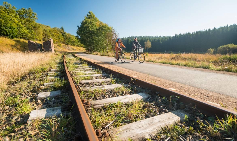 fahrradtour vennbahn troisvierges foto 1