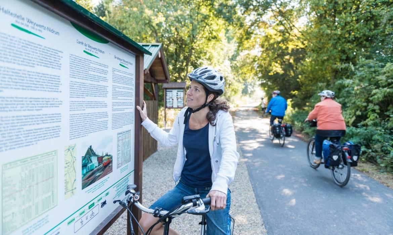 fahrradtour vennbahn troisvierges foto 3