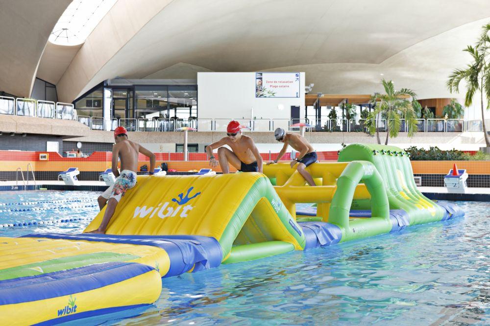 Centre national sportif et culturel d 39 coque visit luxembourg - Piscine luxembourg toboggan ...