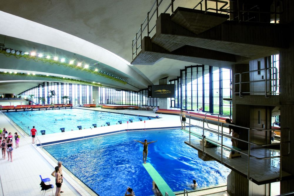 Centre national sportif et culturel d 39 coque visit luxembourg for Piscine strassen