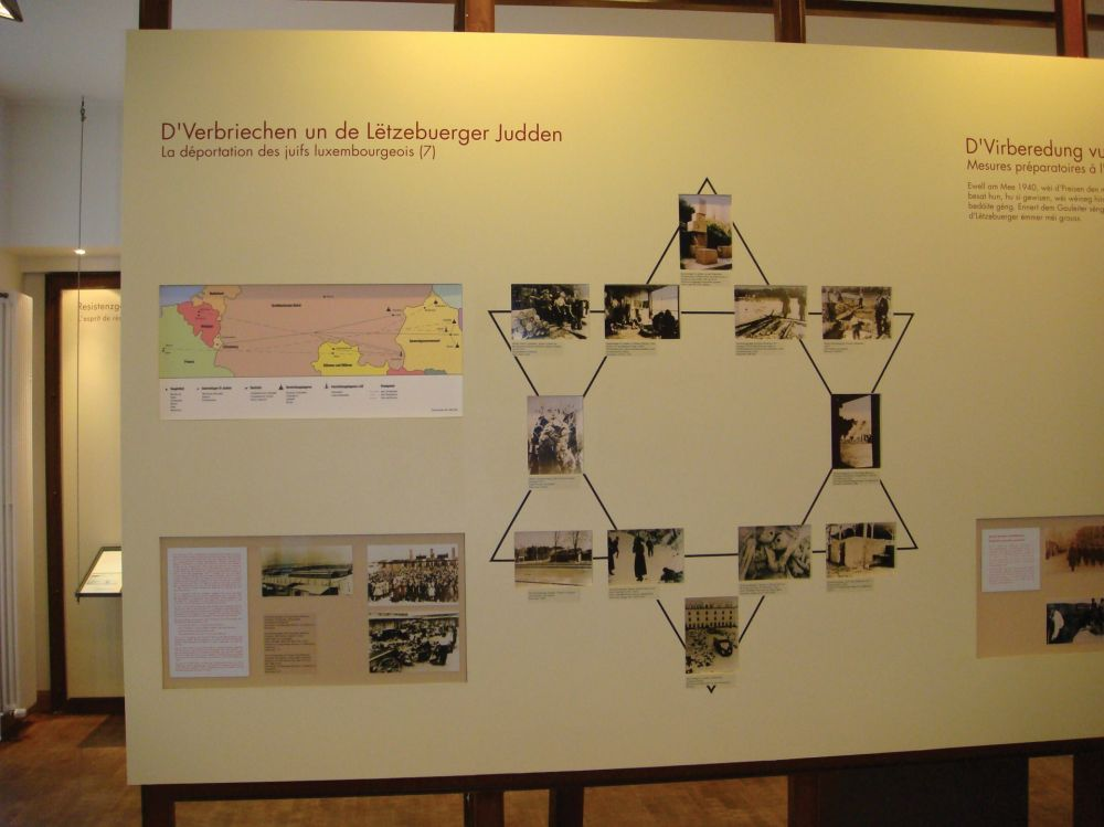 museum memorial of deportation luxembourg city inside