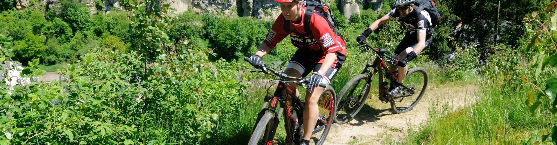 mountainbiken larochette