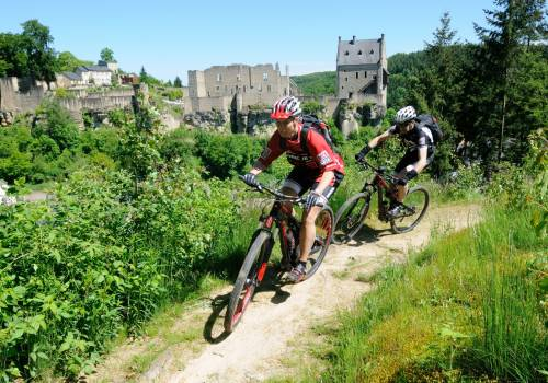 mountainbiking larochette
