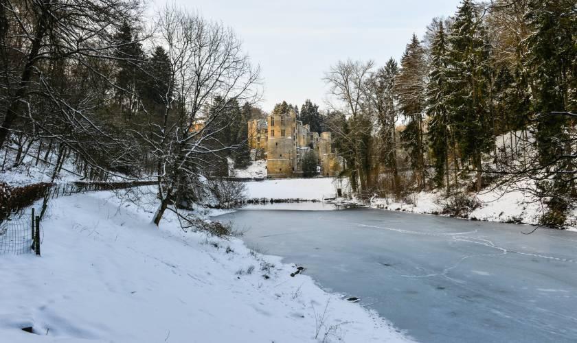 beaufort castle snow jos nerancic