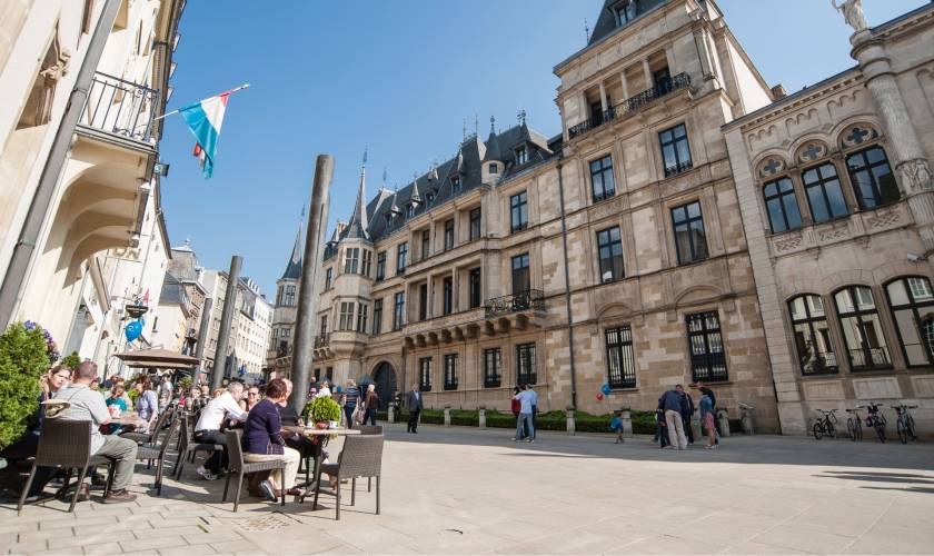 luxembourg grand ducal palace christian millen