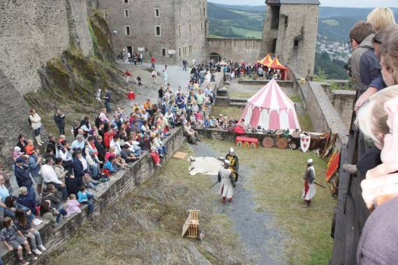 bourscheid fete medievale si bourscheid
