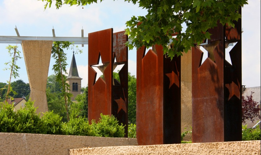 place de l accord de schengen ort region moselle luxembourgeoise