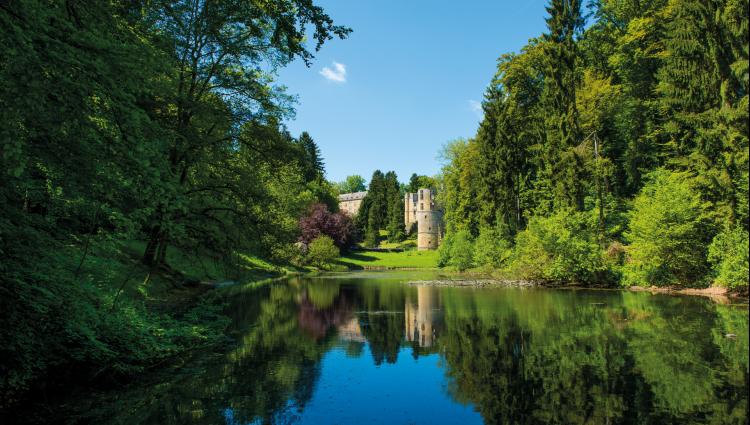 beaufort castle lakeside