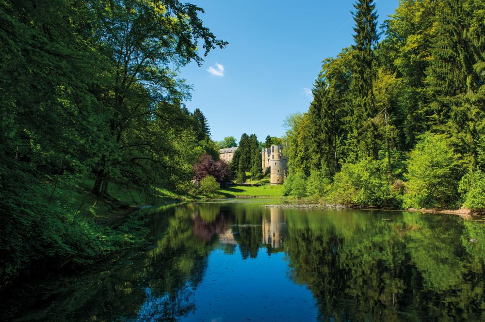 chateau de beaufort lacustre