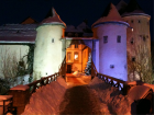 bourglinster castle exterior nocturnal photo