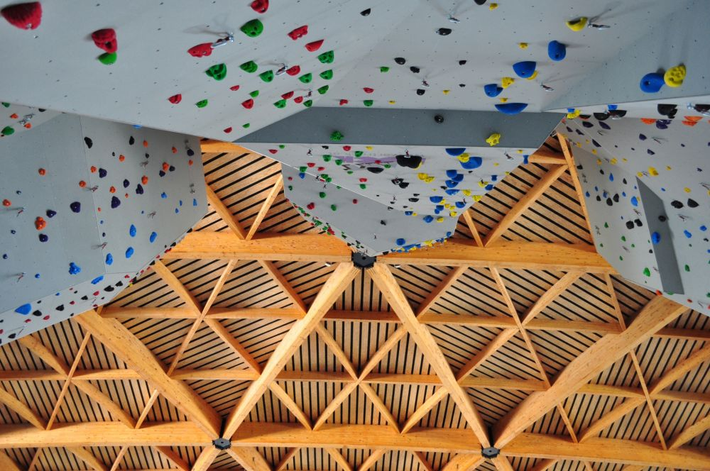 Climbing wall © d'Coque