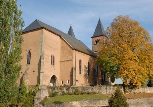 parochiekerk van de heilige petrus en paulus echternach