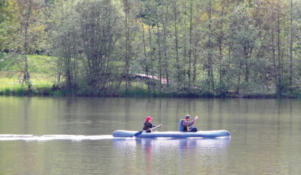 canoe trip in the moselle valley