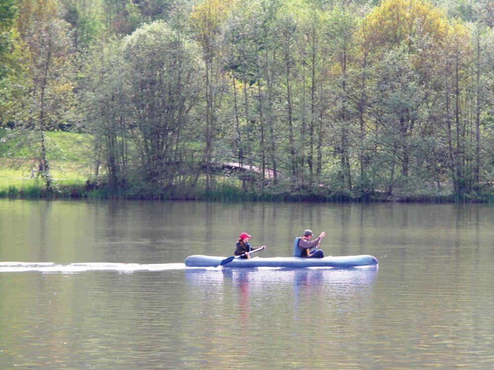 kano waterweg naar de moezel