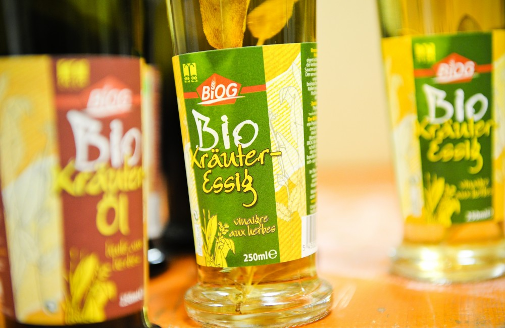 bieschbecher atelier mersch organic herbal vinegar oil