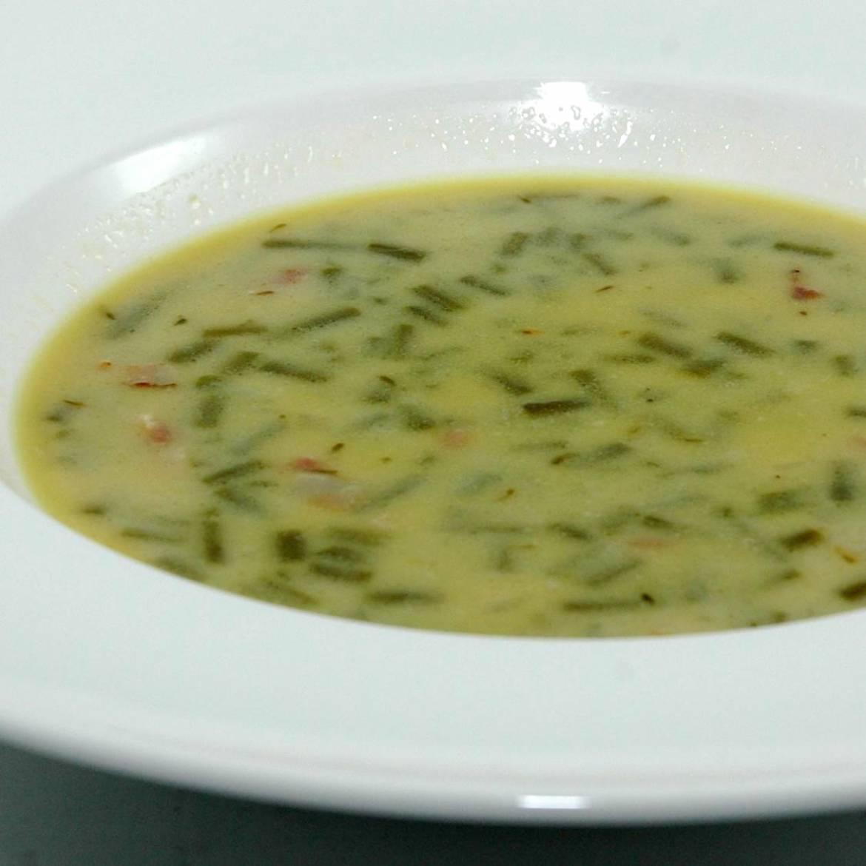 bouneschlupp bean soup