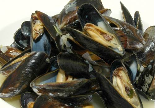 moules a la luxembourgeoise