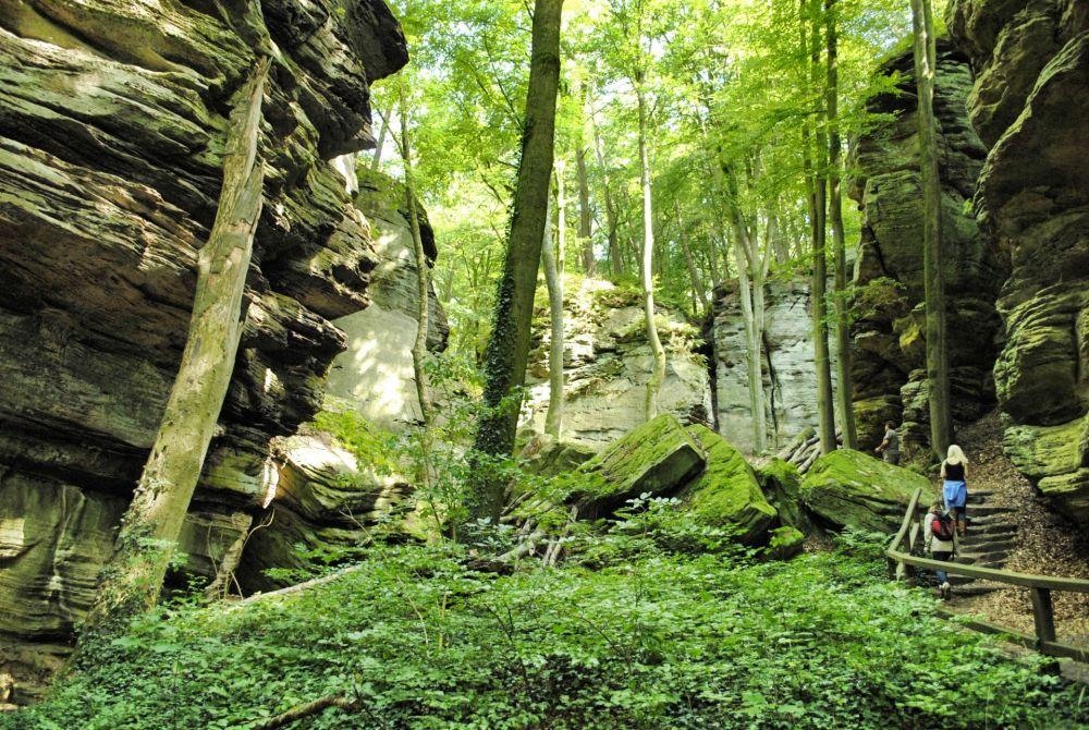 region mullerthal little switzerland of luxembourg