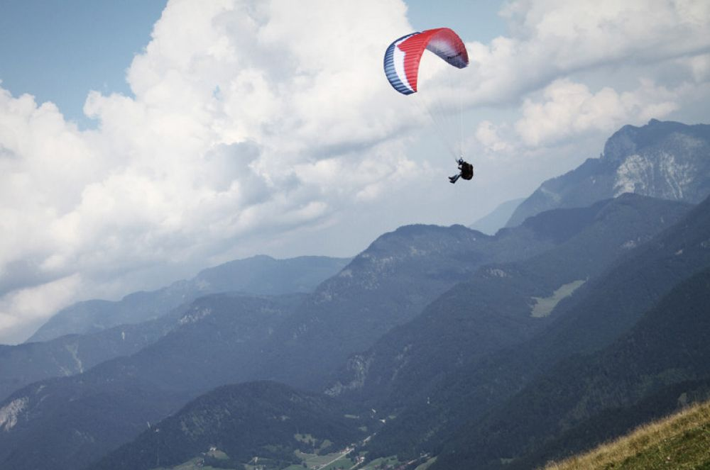 paragliding at the gringlay 01