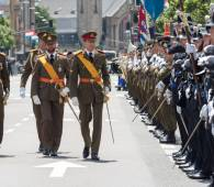 Parade militaire Luxembourg