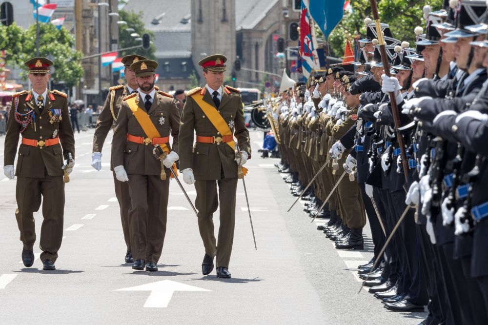 Military Parade Luxembourg