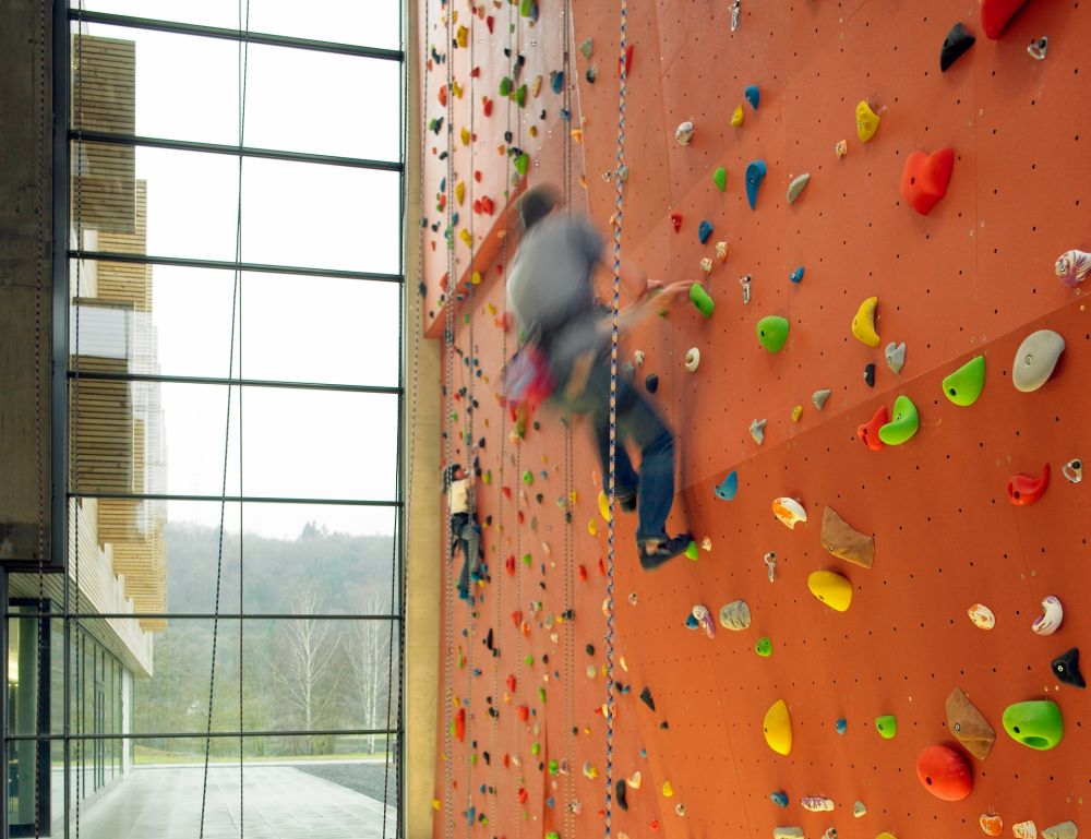climbing at the youth hostel echternach 02