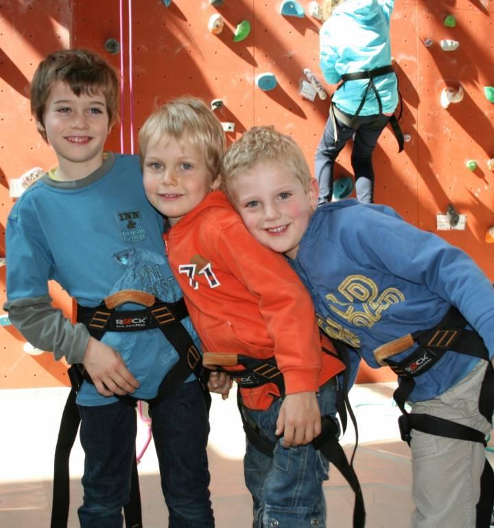 climbing at the youth hostel echternach