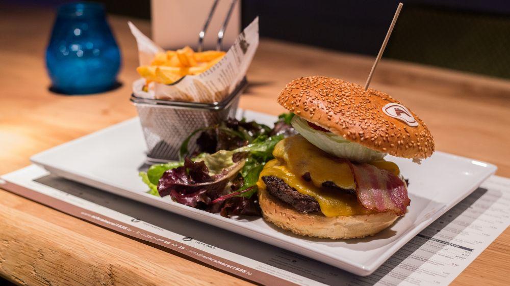 schrainer burger