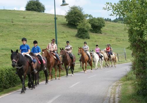 randonnee a cheval 01  drei taler tour 24 km