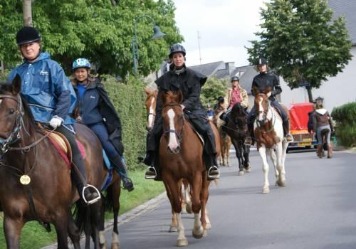 paardrijden tour 03 zwischen mosel und sauer 24 km