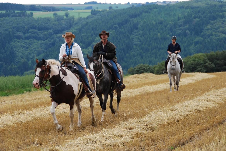 horseride tour 06  klenge besch & wengerts rundtour 12 km
