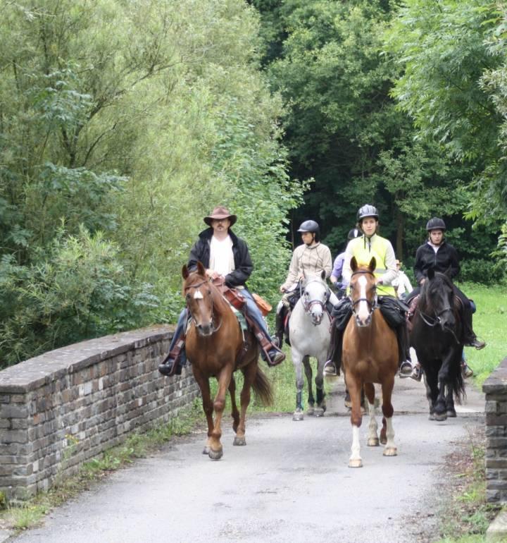 horseride tour 11 vom hollenfels ins mamertal 24 km