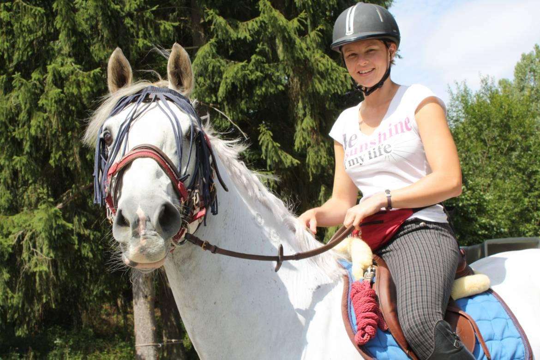 paardrijden tour 13 mamer rundtour 19 km