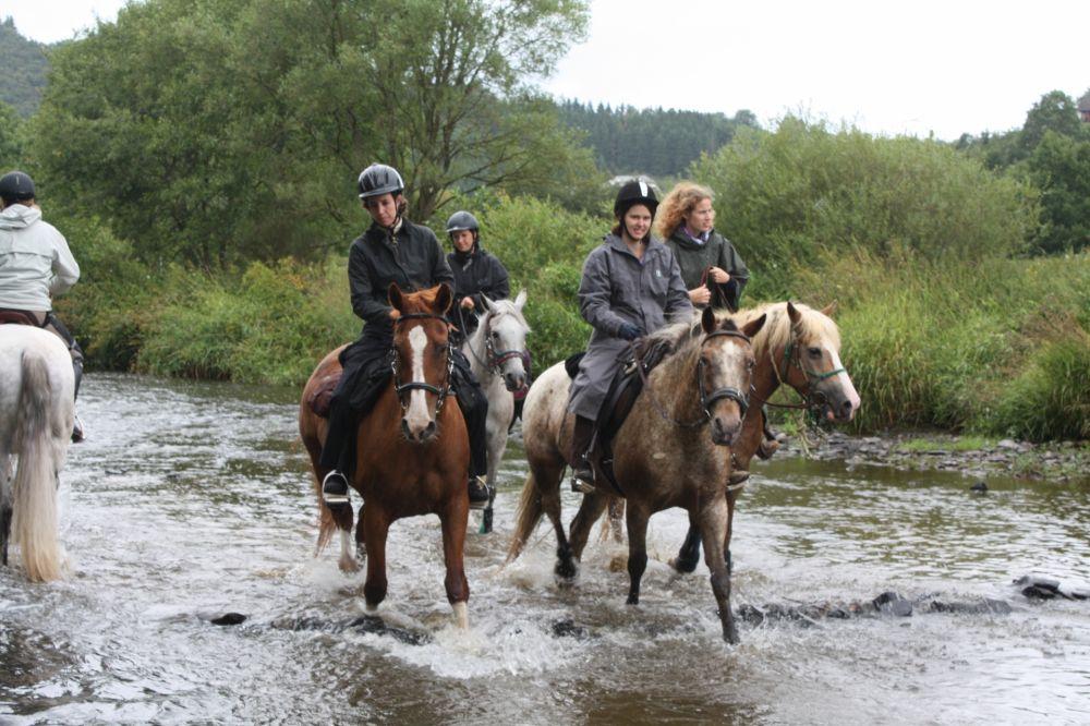 horseride tour 15 nommern rundtour 22 km